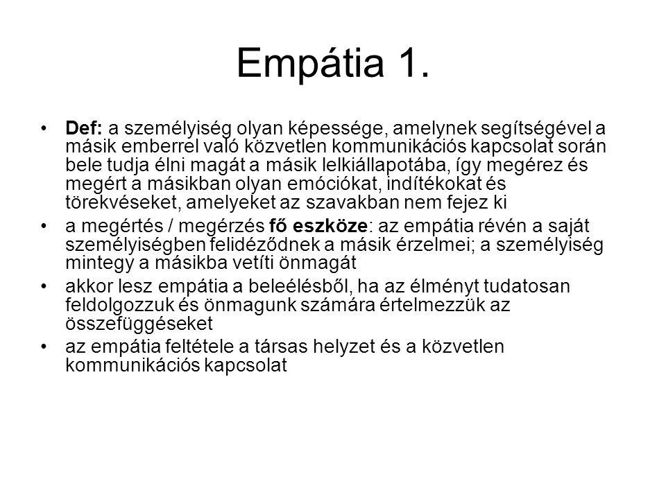 Empátia 1.