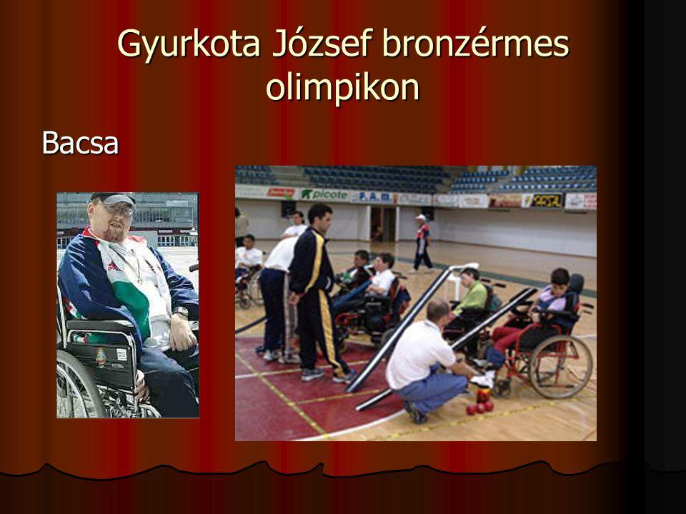 Gyurkota József bronzérmes olimpikon