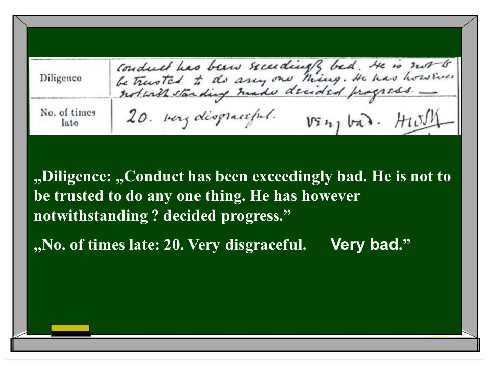 """Diligence: ""Conduct has been exceedingly bad"