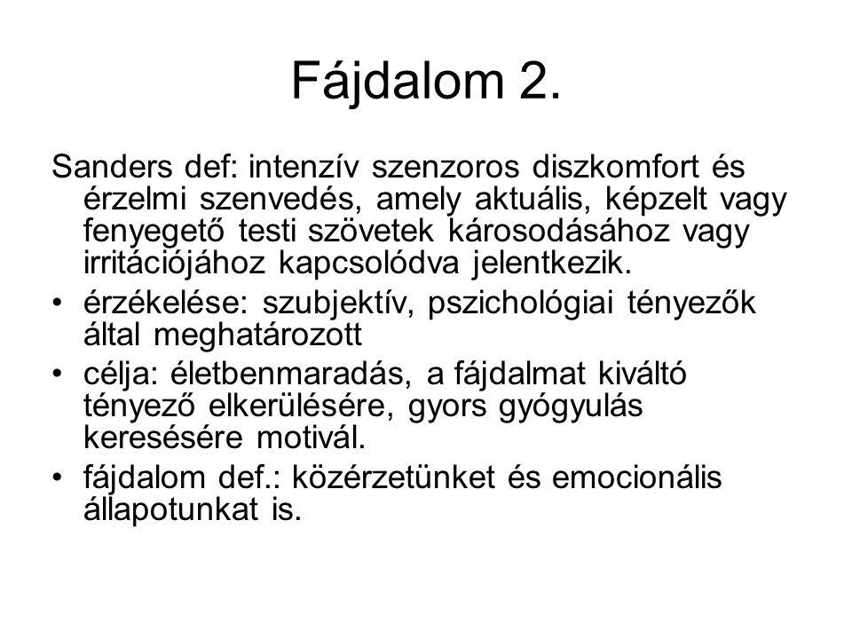 Fájdalom 2.
