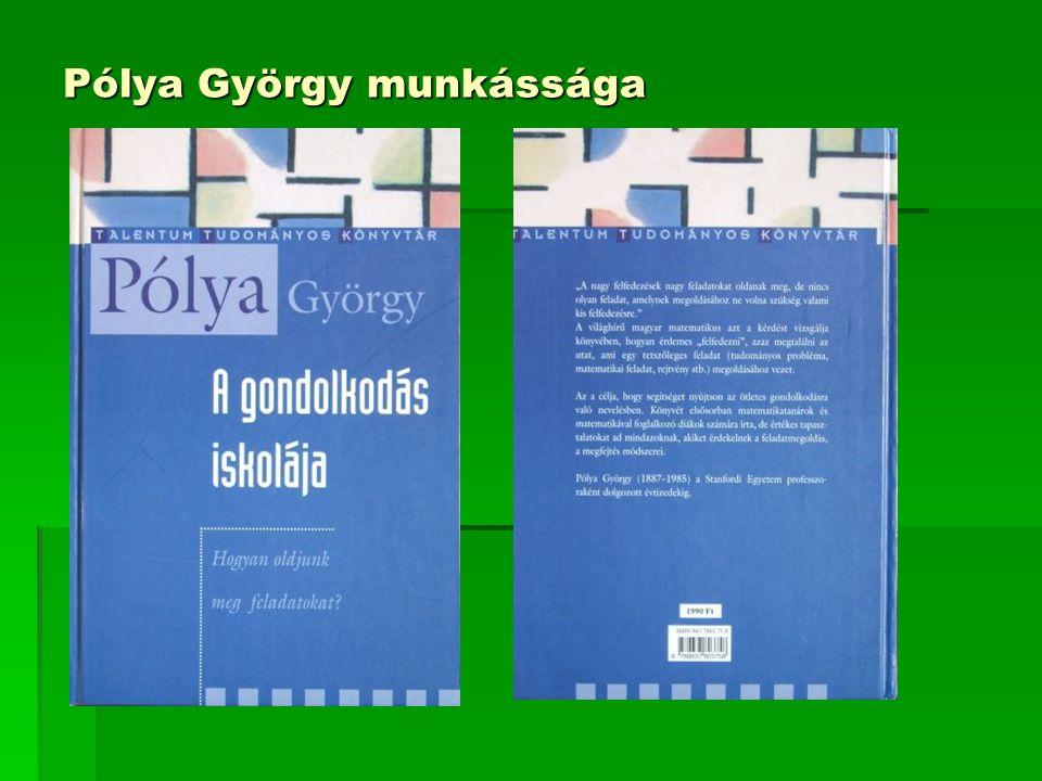 Pólya György munkássága