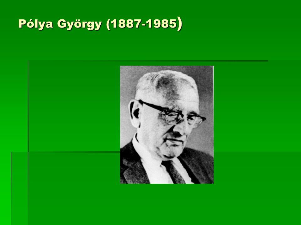 Pólya György (1887-1985)
