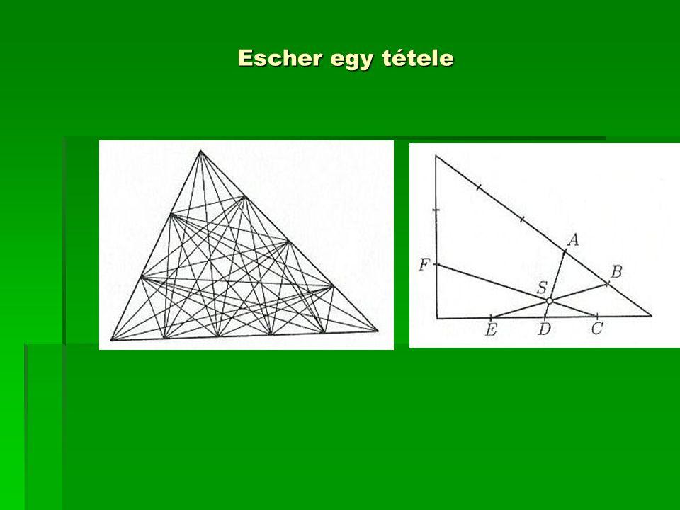 Escher egy tétele