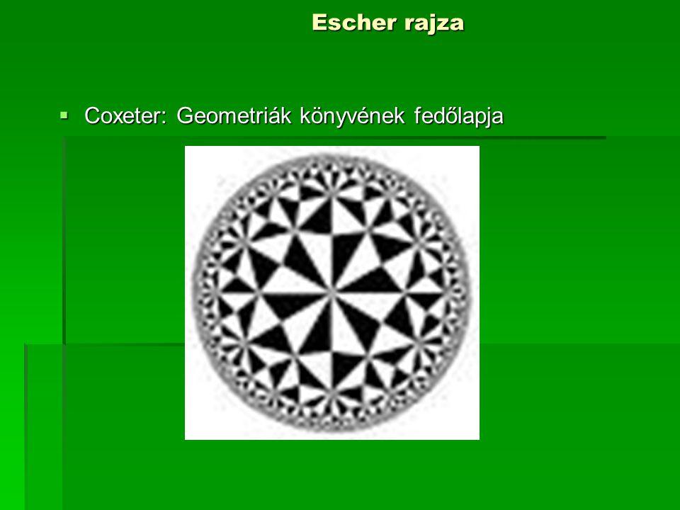 Coxeter: Geometriák könyvének fedőlapja