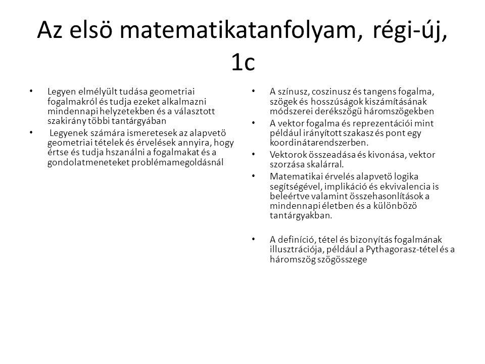 Az elsö matematikatanfolyam, régi-új, 1c
