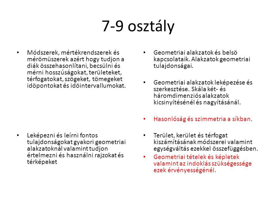 7-9 osztály