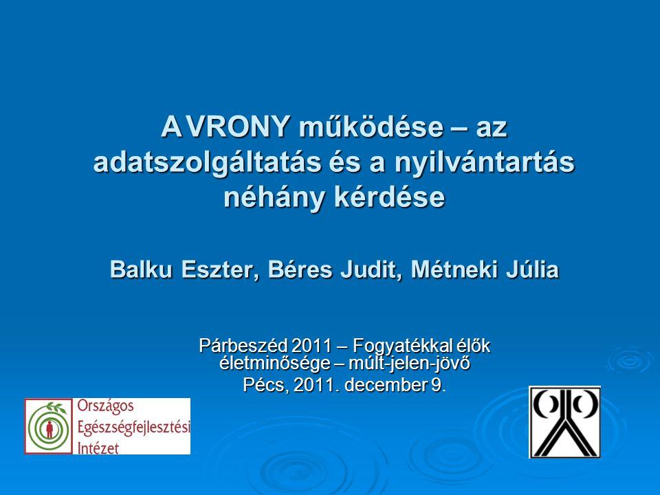 Párbeszéd 2011 – Fogyatékkal élők életminősége – múlt-jelen-jövő