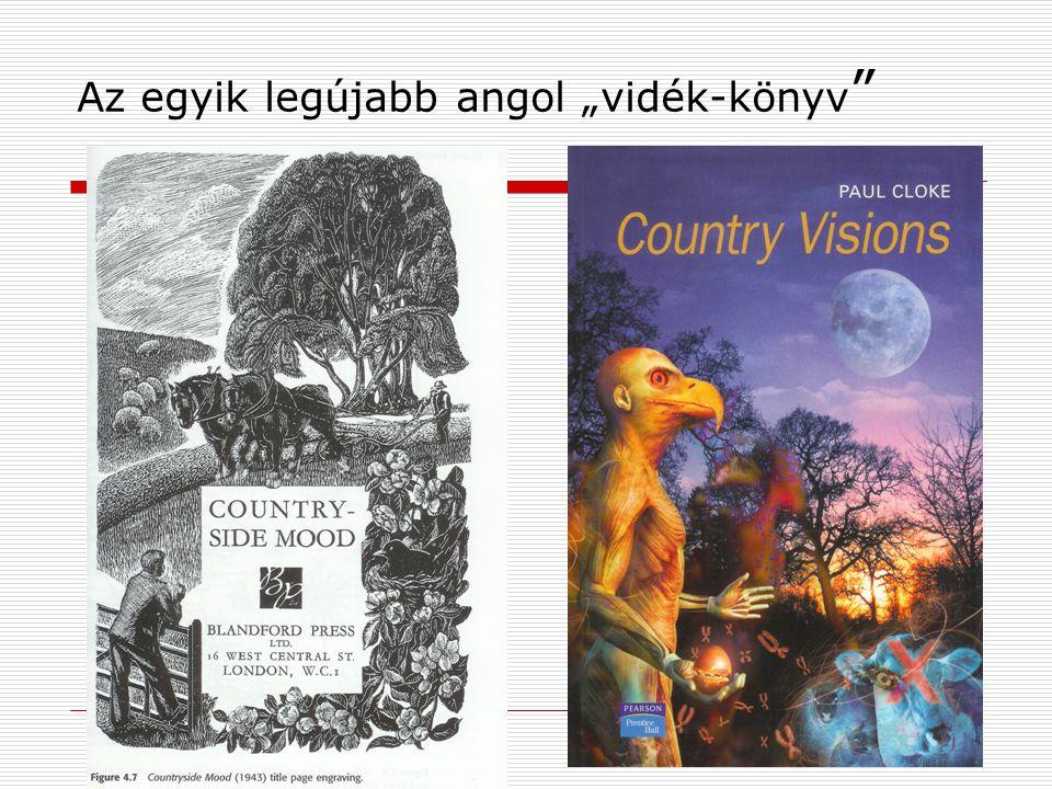 """Az egyik legújabb angol """"vidék-könyv"""