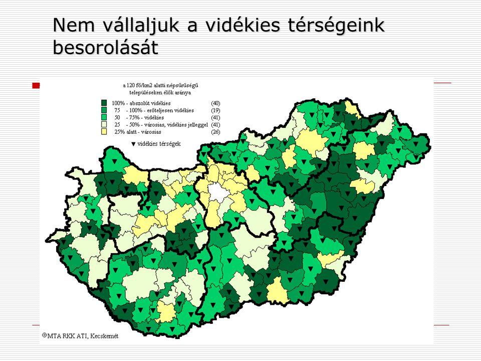 Nem vállaljuk a vidékies térségeink besorolását