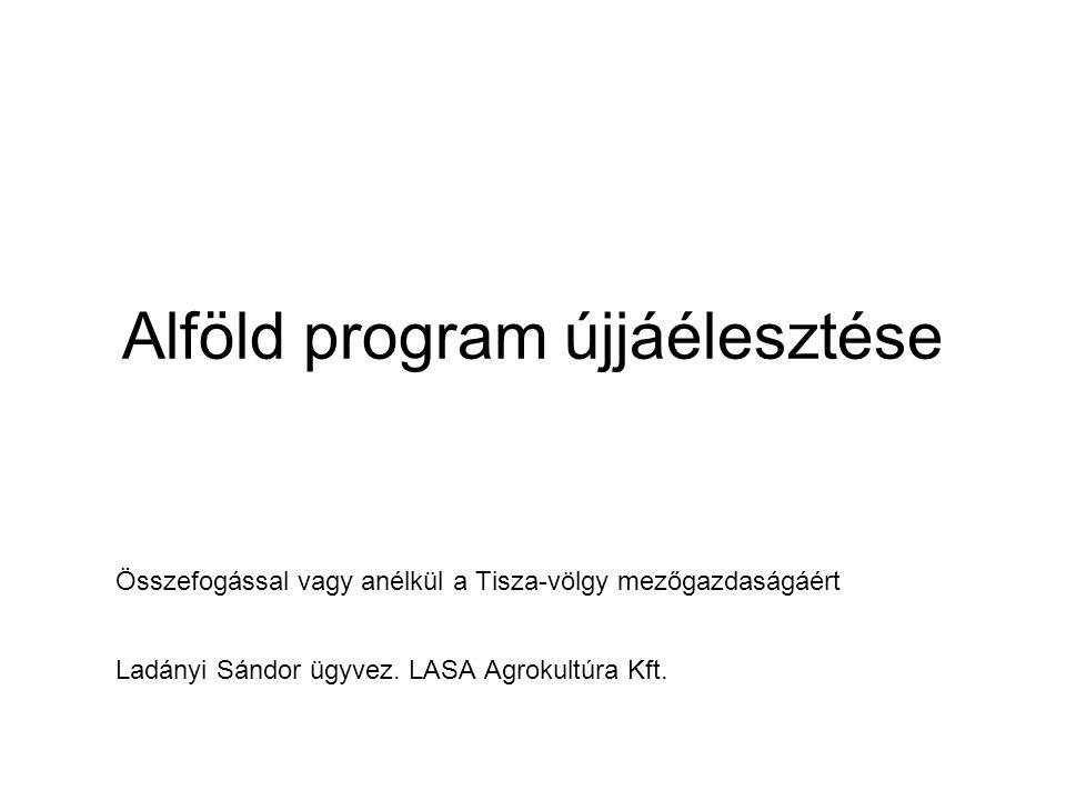 Alföld program újjáélesztése