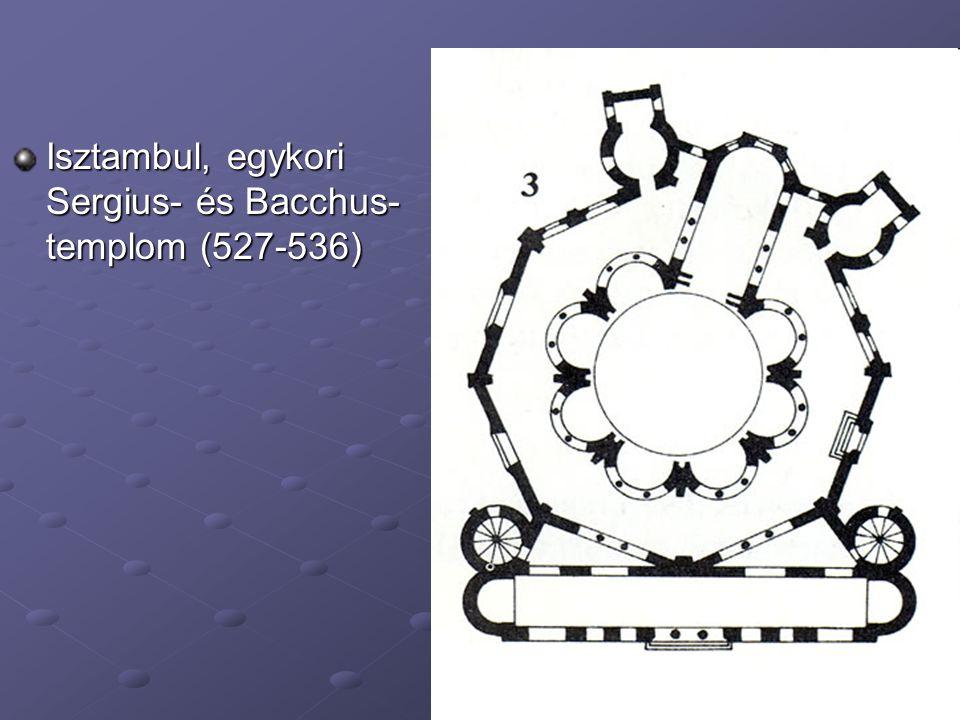 Isztambul, egykori Sergius- és Bacchus-templom (527-536)
