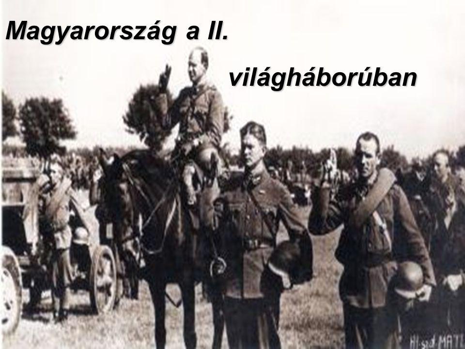 Magyarország a II. világháborúban