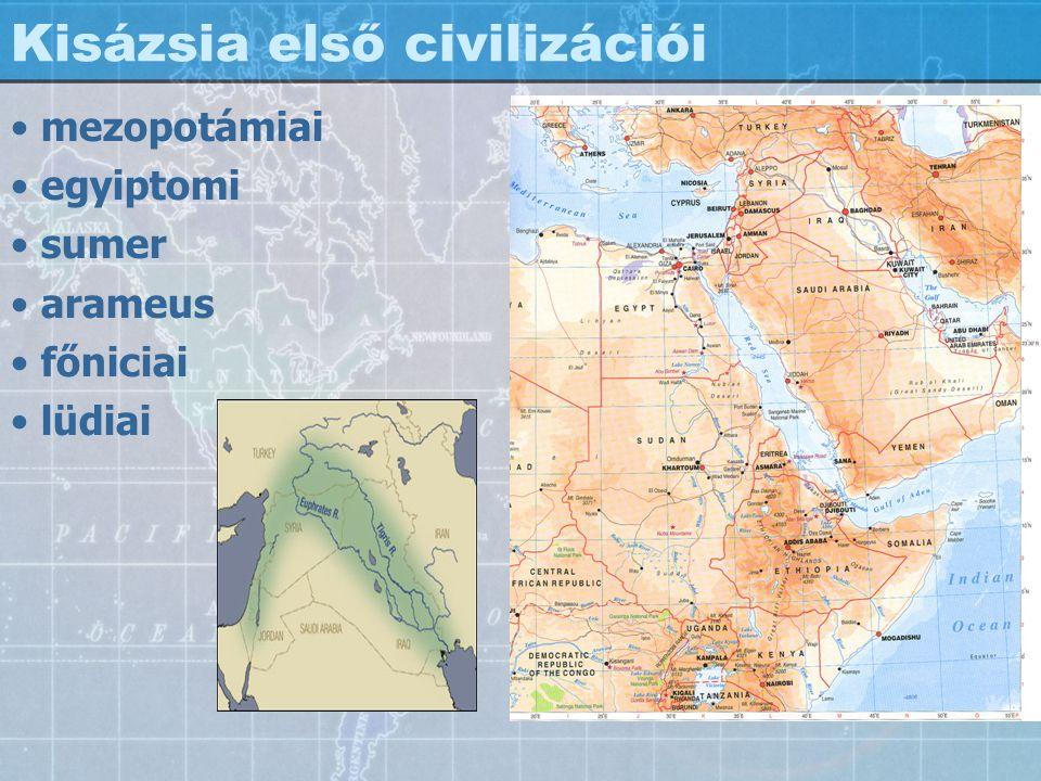 Kisázsia első civilizációi