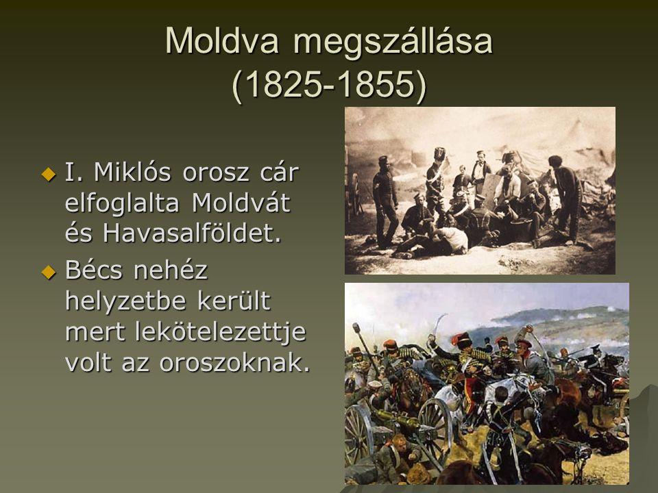 Moldva megszállása (1825-1855)