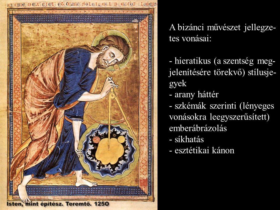 A bizánci művészet jellegze-