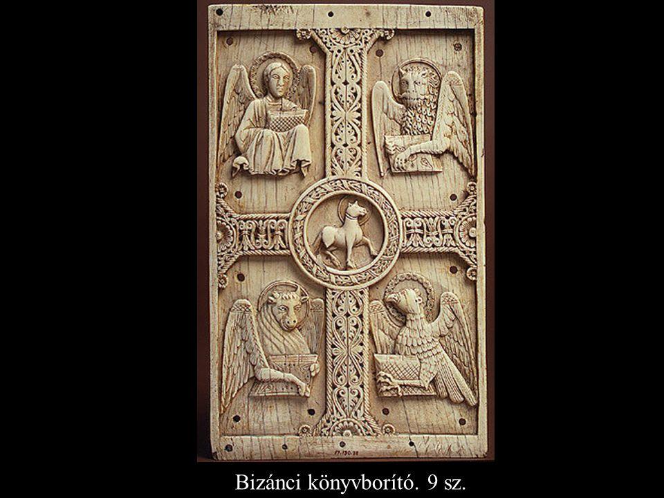 Bizánci könyvborító. 9 sz.