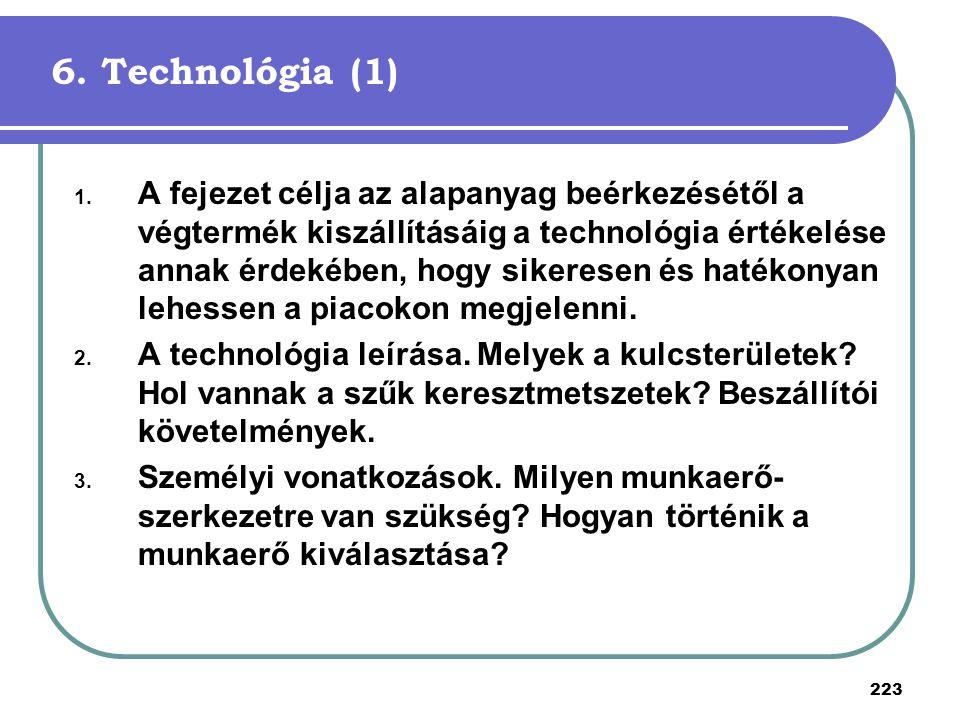 6. Technológia (1)