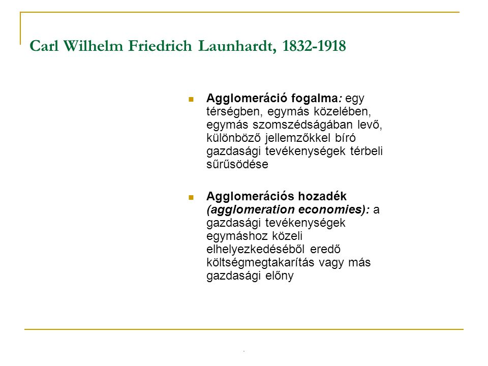 Carl Wilhelm Friedrich Launhardt, 1832-1918