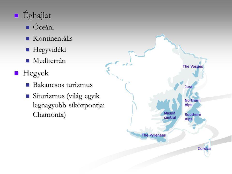 Éghajlat Hegyek Óceáni Kontinentális Hegyvidéki Mediterrán