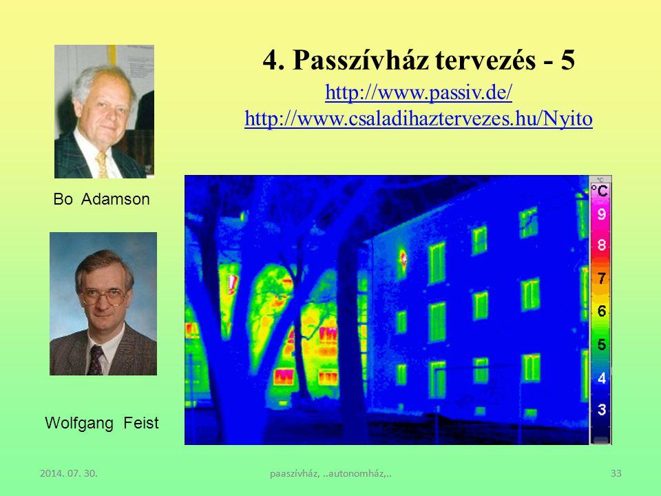 4. Passzívház tervezés - 5 http://www. passiv. de/ http://www