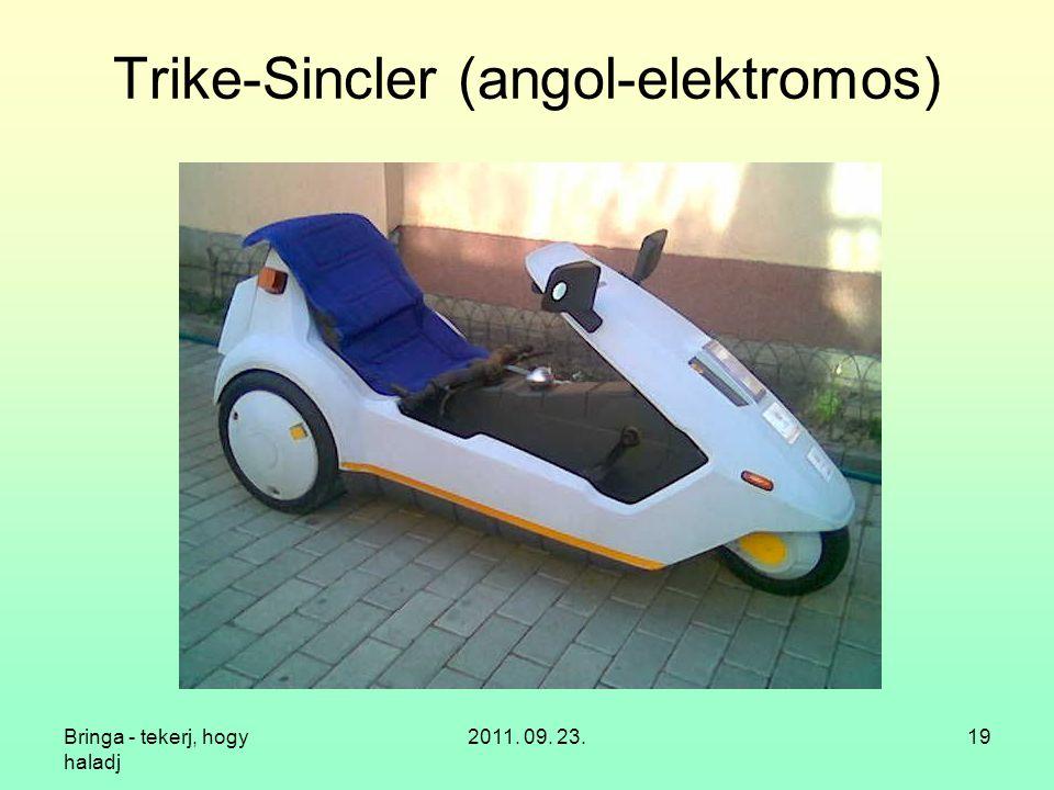 Trike-Sincler (angol-elektromos)