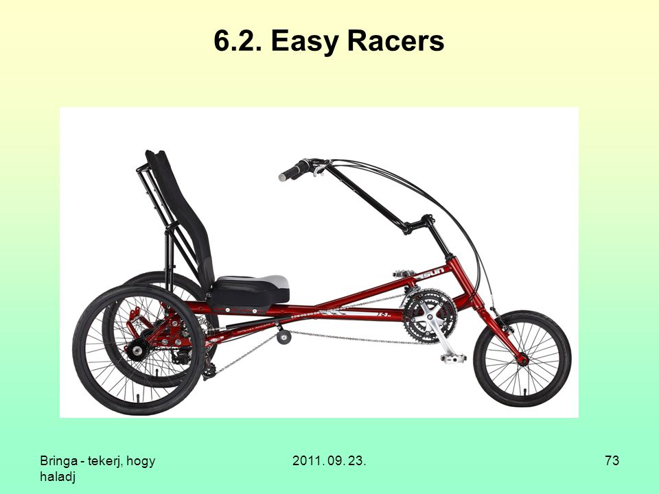 6.2. Easy Racers Bringa - tekerj, hogy haladj 2011. 09. 23.