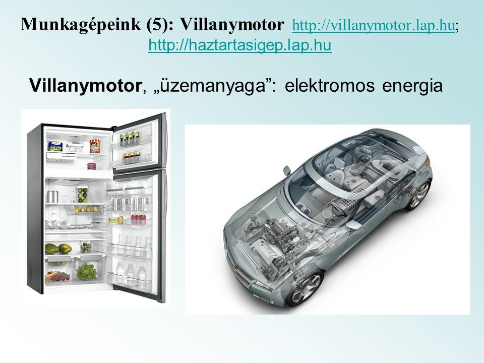Munkagépeink (5): Villanymotor http://villanymotor. lap