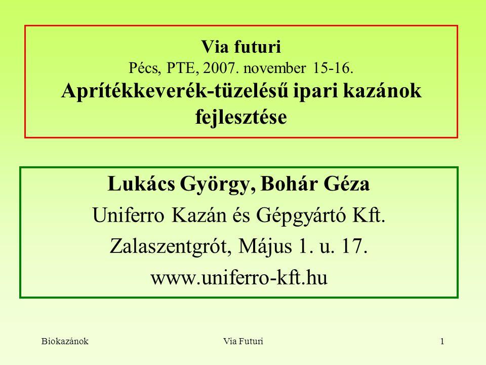 Lukács György, Bohár Géza