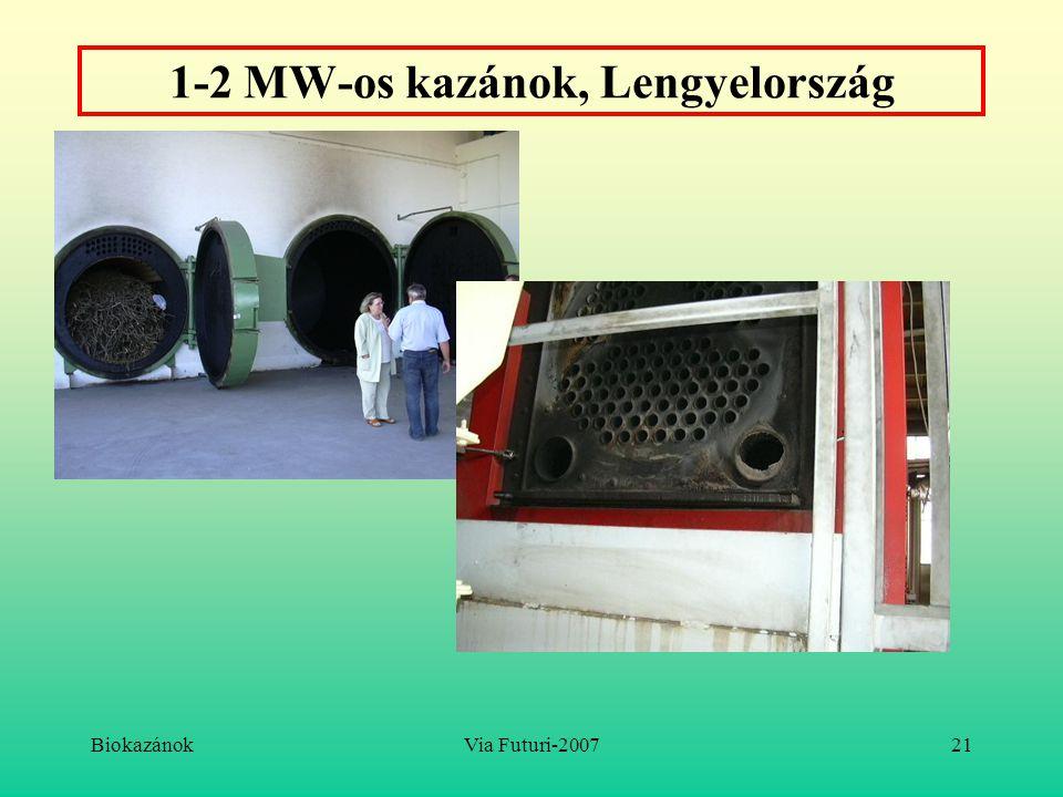 1-2 MW-os kazánok, Lengyelország