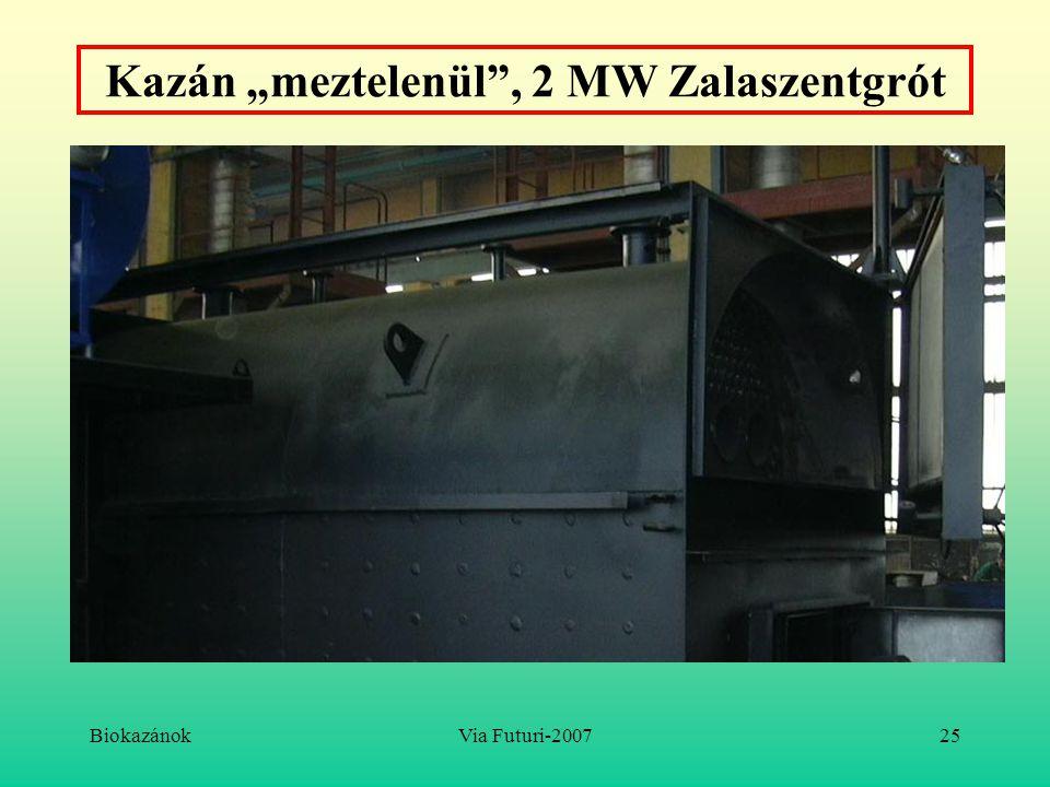 """Kazán """"meztelenül , 2 MW Zalaszentgrót"""