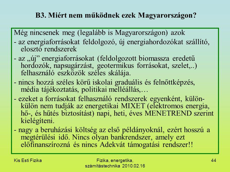 B3. Miért nem működnek ezek Magyarországon