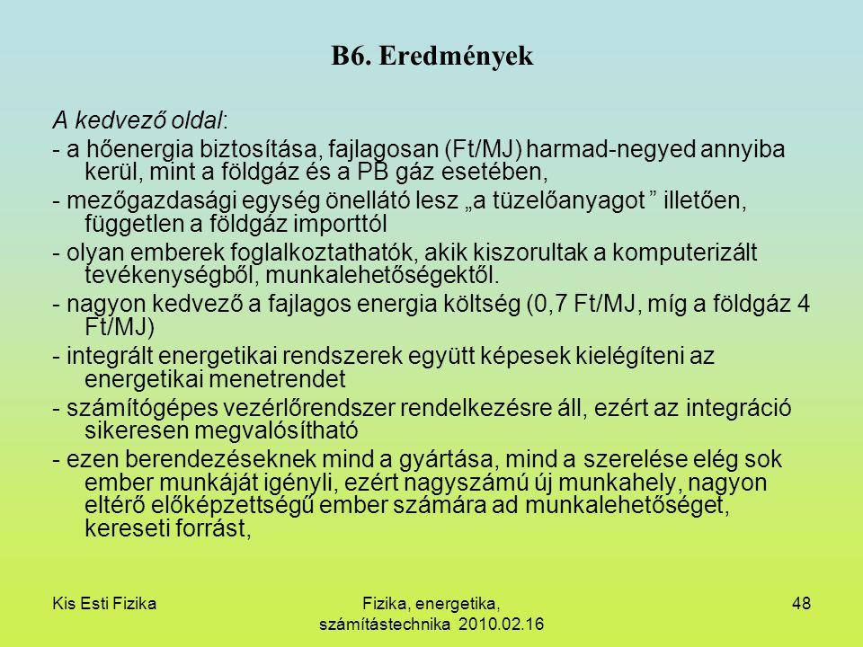 Fizika, energetika, számítástechnika 2010.02.16