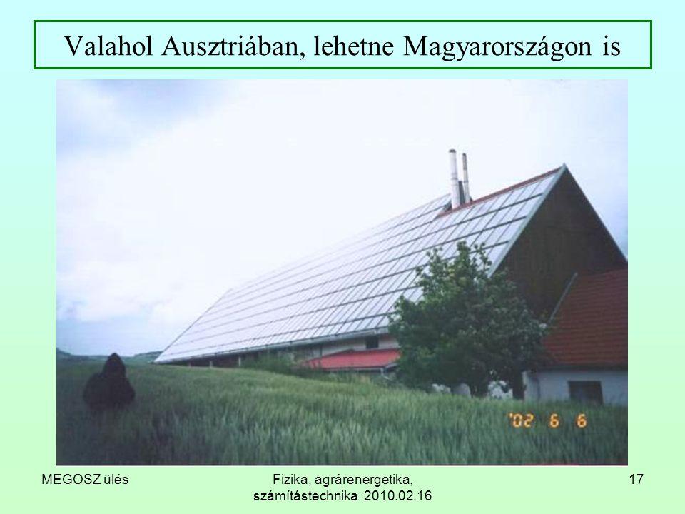 Valahol Ausztriában, lehetne Magyarországon is