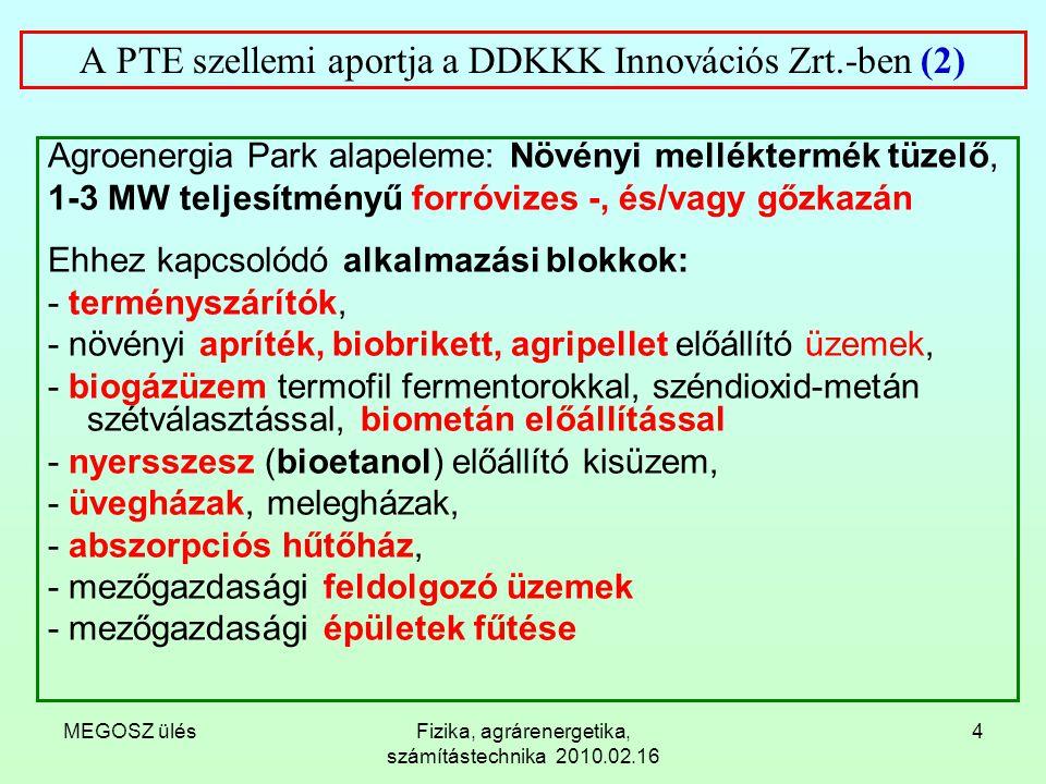 A PTE szellemi aportja a DDKKK Innovációs Zrt.-ben (2)