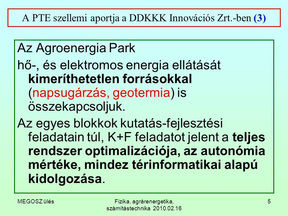 A PTE szellemi aportja a DDKKK Innovációs Zrt.-ben (3)