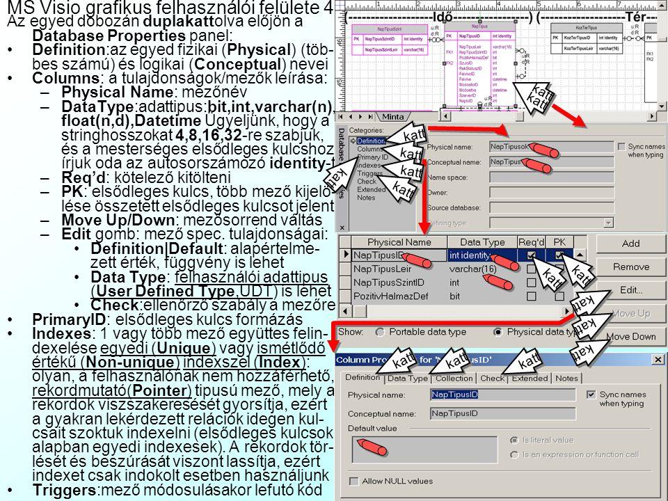 MS Visio grafikus felhasználói felülete 4