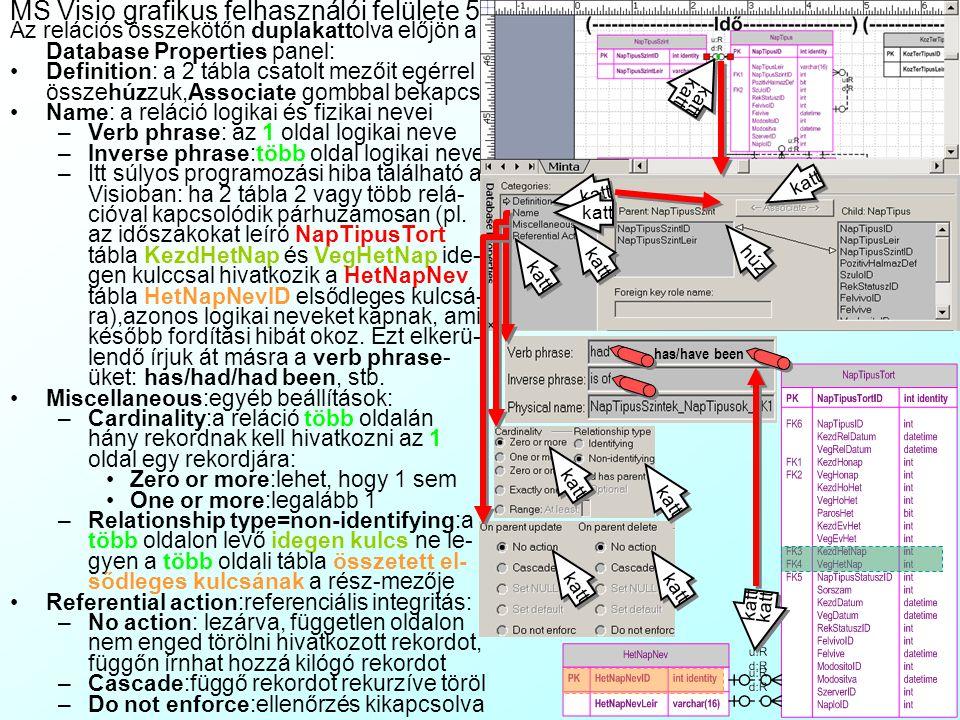 MS Visio grafikus felhasználói felülete 5