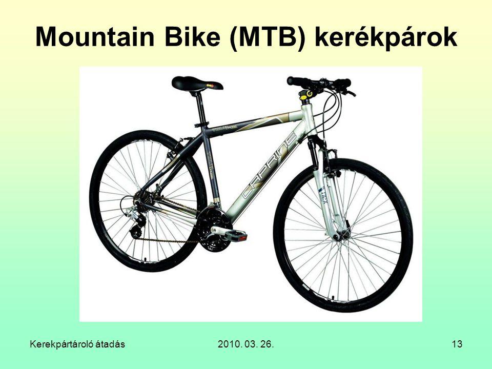 Mountain Bike (MTB) kerékpárok