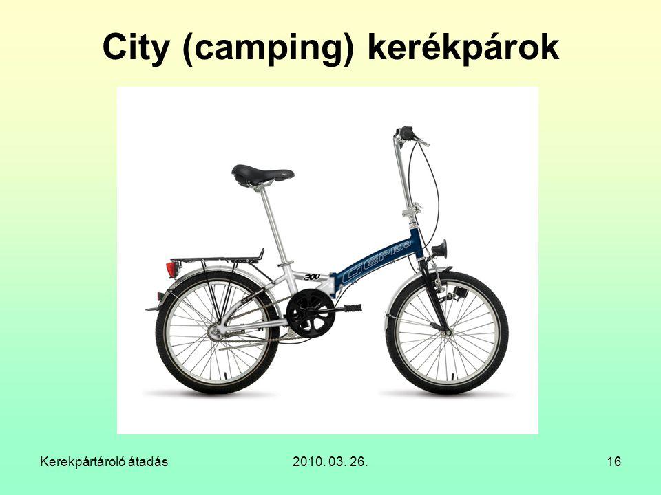 City (camping) kerékpárok