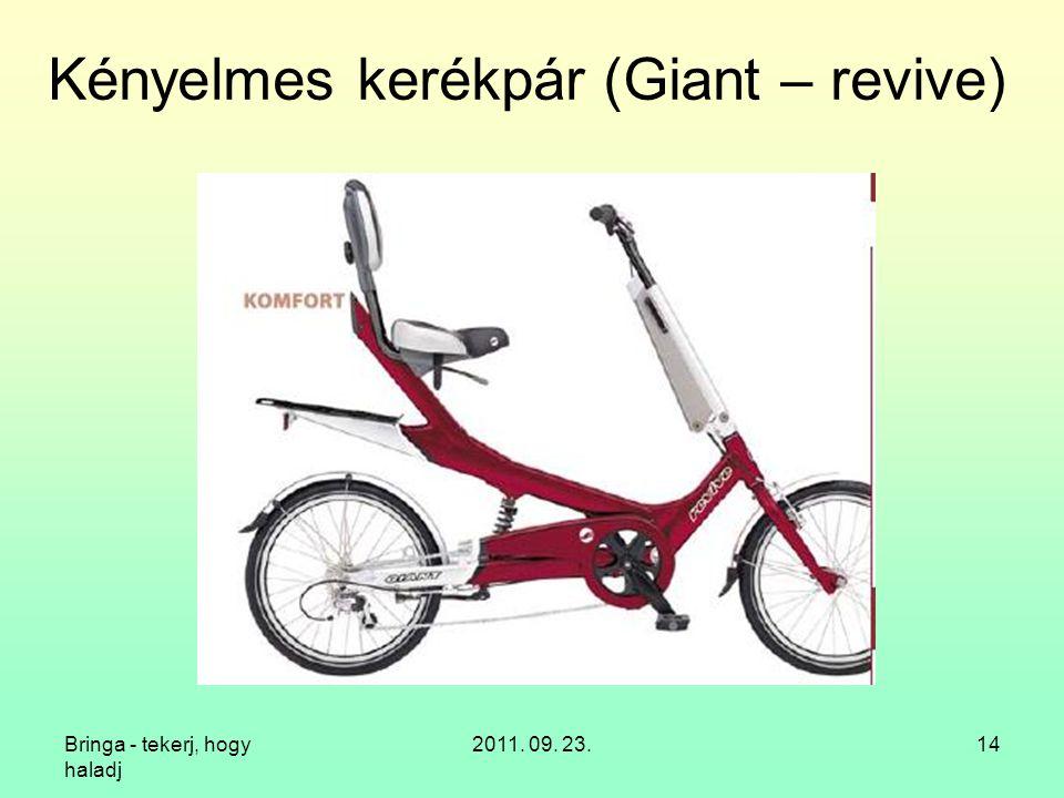 Kényelmes kerékpár (Giant – revive)