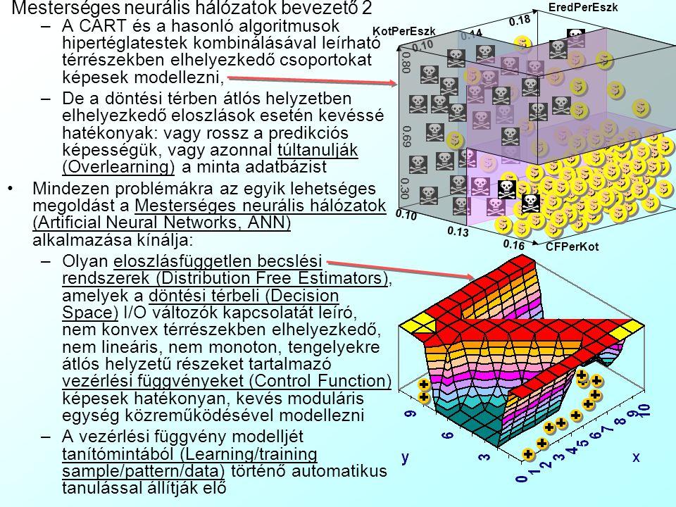 Mesterséges neurális hálózatok bevezető 2