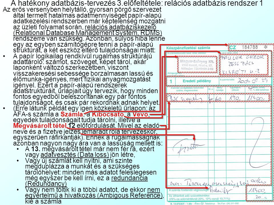 A hatékony adatbázis-tervezés 3