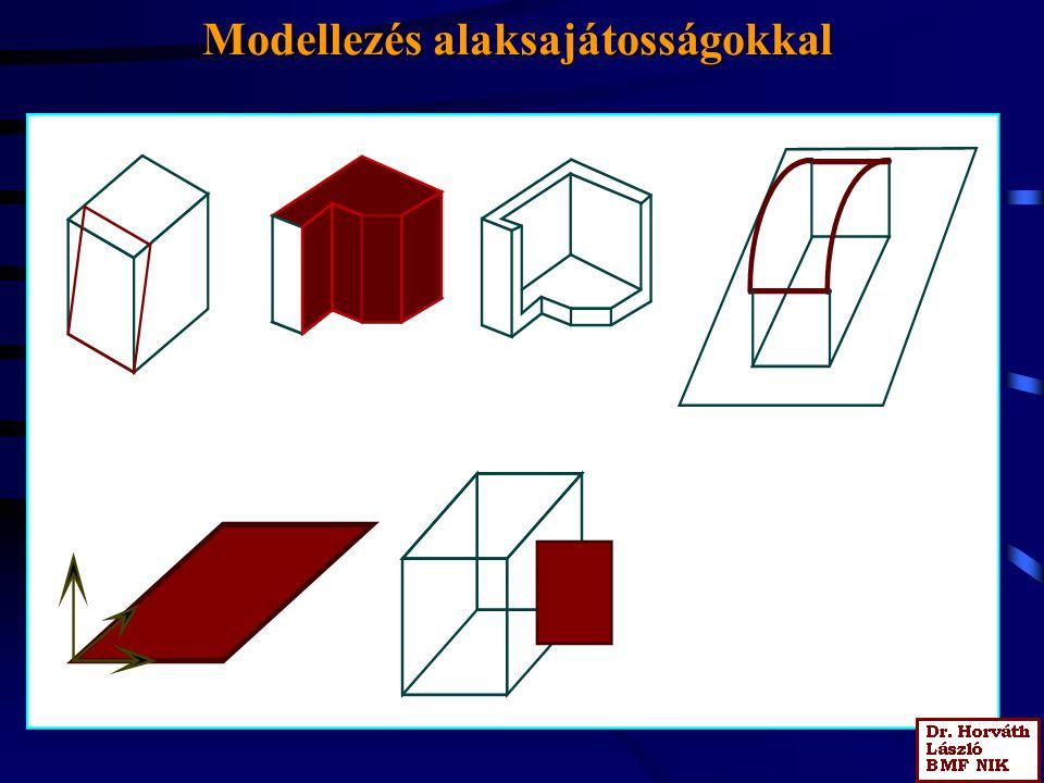 Modellezés alaksajátosságokkal