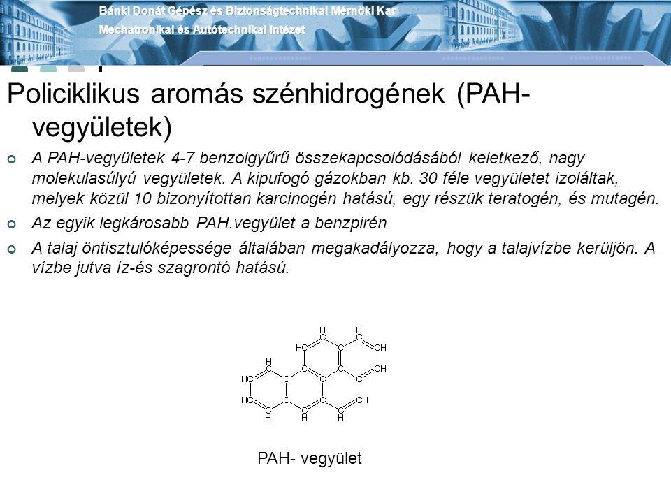 Policiklikus aromás szénhidrogének (PAH- vegyületek)