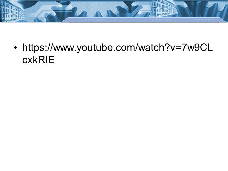 https://www.youtube.com/watch v=7w9CL cxkRIE
