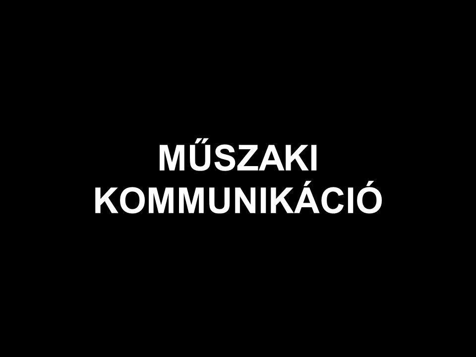 MŰSZAKI KOMMUNIKÁCIÓ