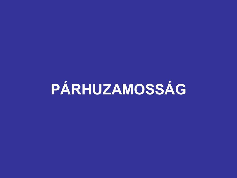 PÁRHUZAMOSSÁG