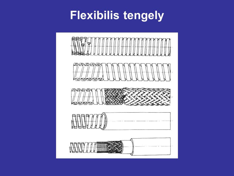Flexibilis tengely