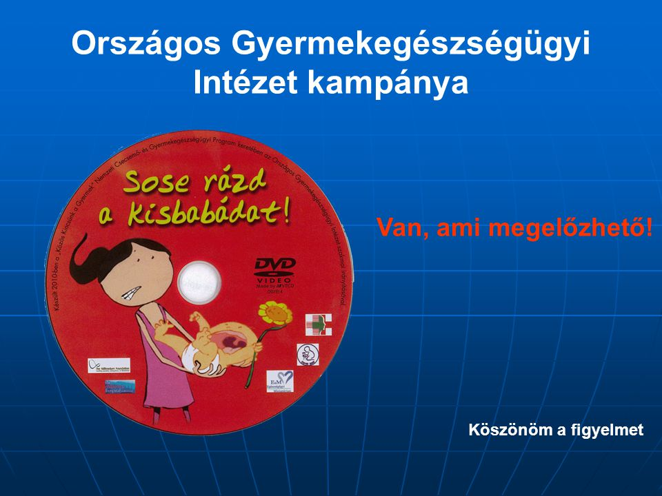 Országos Gyermekegészségügyi Intézet kampánya