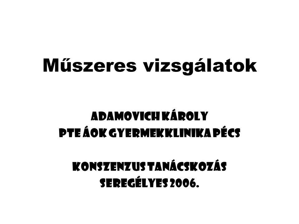PTE ÁOK Gyermekklinika Pécs Konszenzus tanácskozás